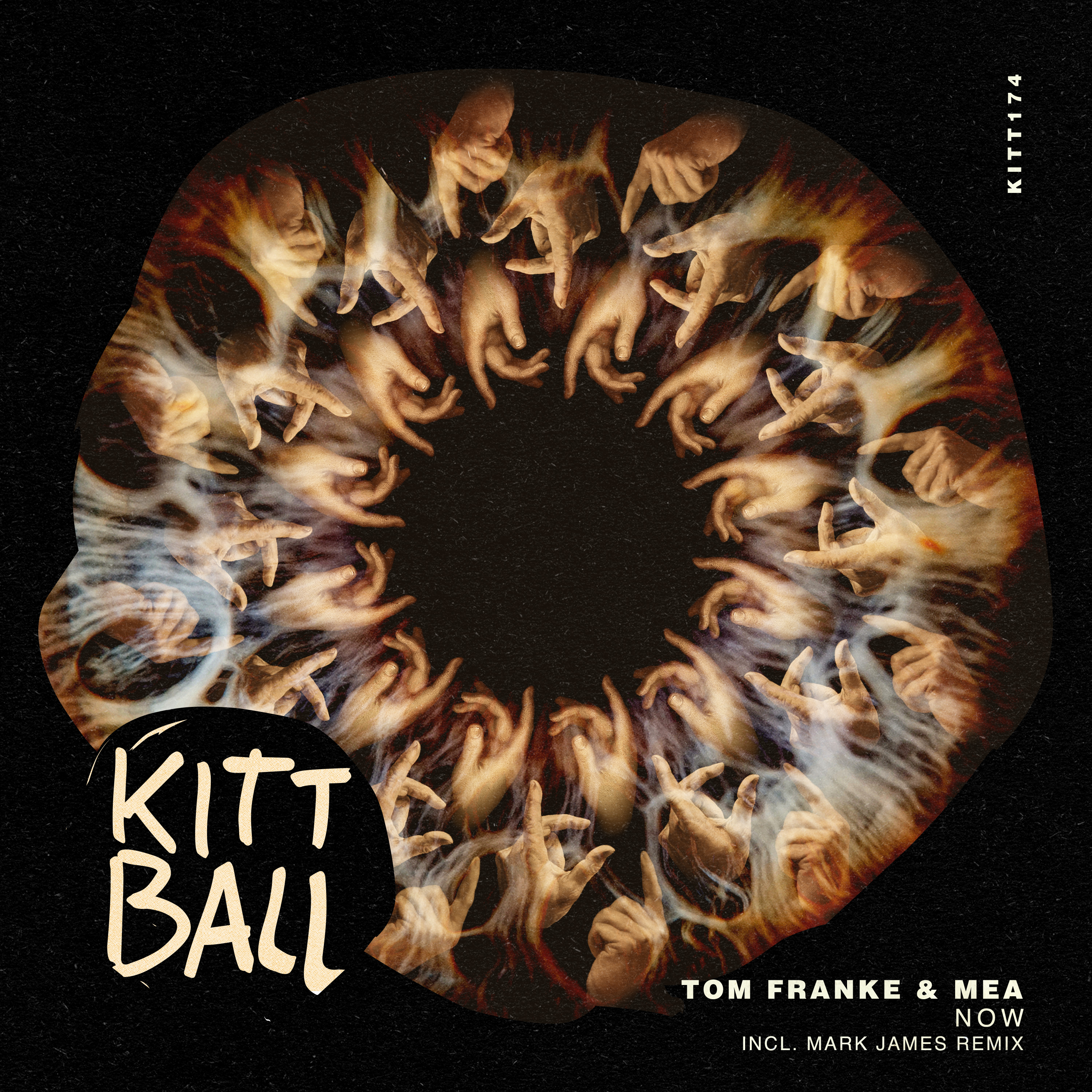 Tom Franke & Mea - Now Cover design artwork