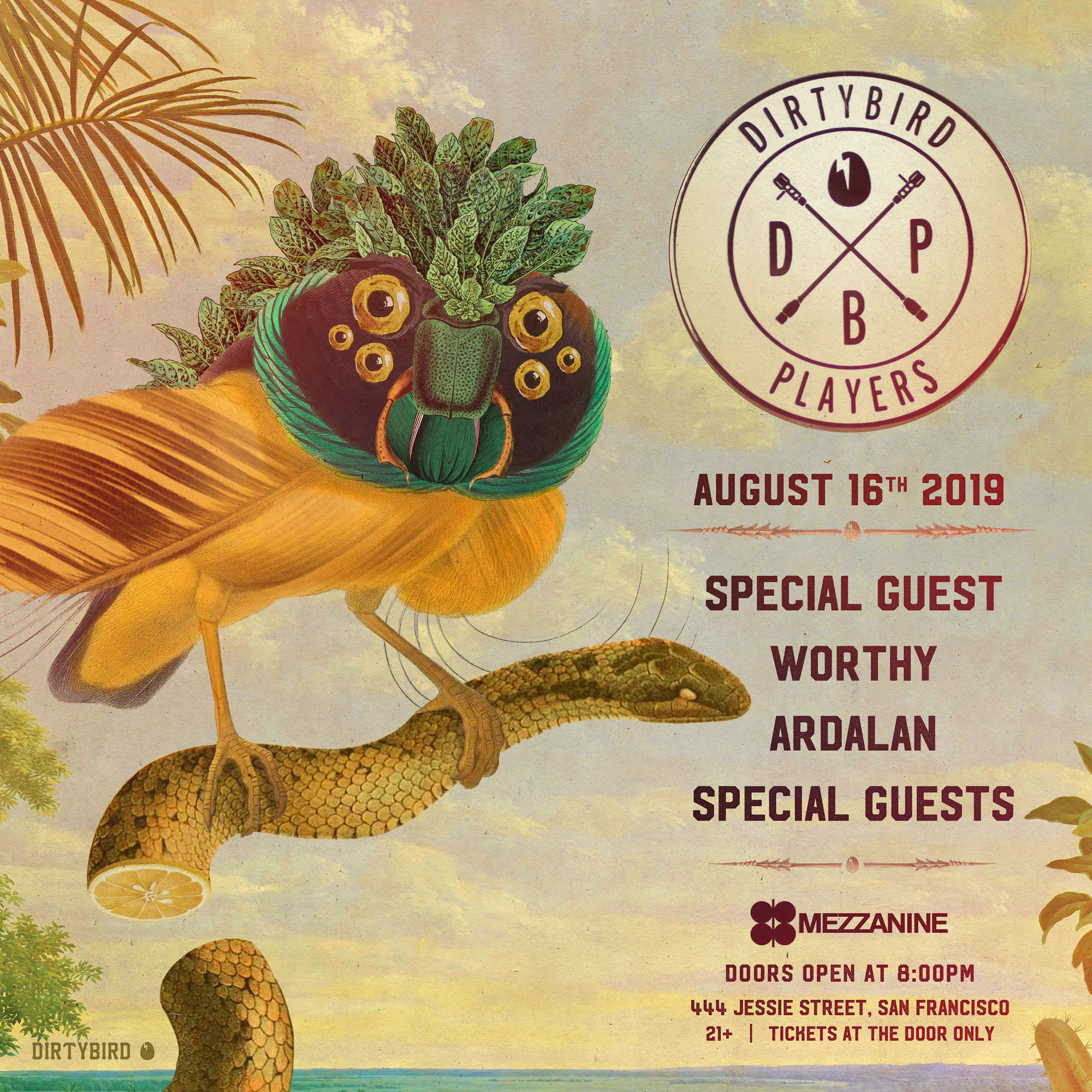 Dirtybird Players at Mezzanine 2019 2